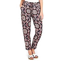Wallis - Petite tile printed trouser