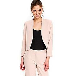Wallis - Petite blush cropped jacket
