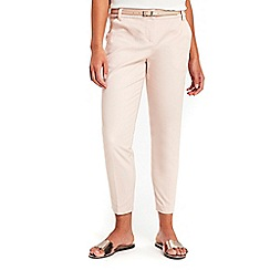 Wallis - Petite pink cigarette trousers