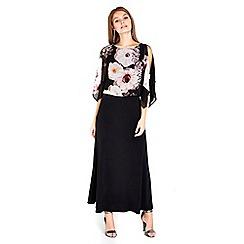 Wallis - Petite  overlayer maxi dress