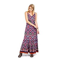 Wallis - Petite printed maxi dress