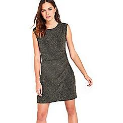 Wallis - Silver glitterball sleeveless dress
