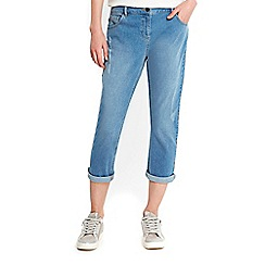 Wallis - Petite summer blue esther jeans
