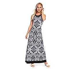 Wallis - Petite blue paisley maxi dress