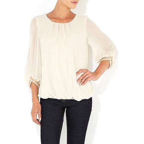 Wallis - Stone embellished cuff petite blouse