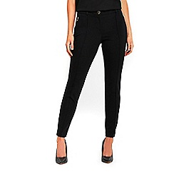 Wallis - Petite black ponte treggings
