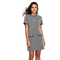 Wallis - Petite boucle shift dress