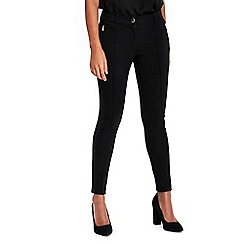 Wallis - Petite black ponte legging