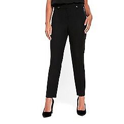 Wallis - Petite tapered zip pocket trousers