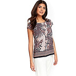 Wallis - Petite paisley shell top