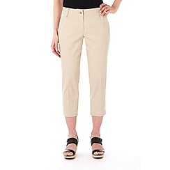 Wallis - Petite stone seam pocket stretch crop trouser