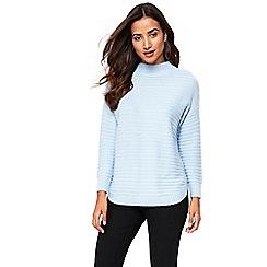Wallis - Petite blue jumper