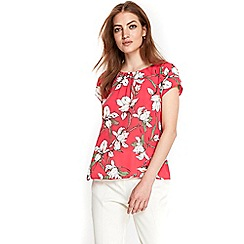 Wallis - Petite pink Lilly shell top