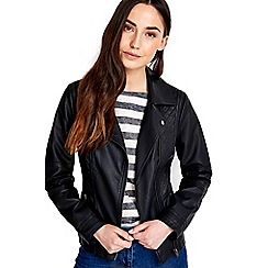 Wallis - Pette black gothic biker jacket
