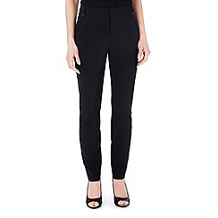 Wallis - Petite black luxury trouser