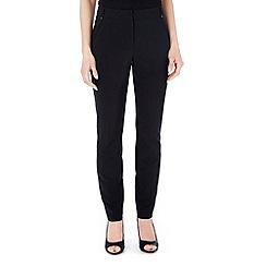 Wallis - Petite black luxury trouser