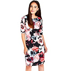 Wallis - Butterfly print shift dress