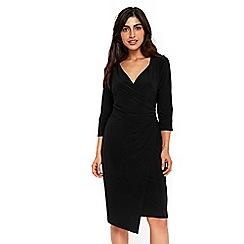 Wallis - Black wrap dress