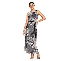 Wallis - Patchwork paisley maxi dress