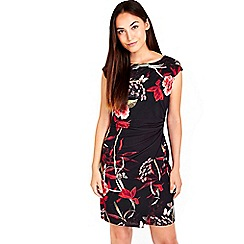 Wallis - Oriental wrap dress