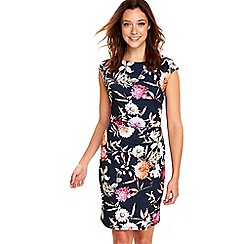 Wallis - Navy garden floral dress