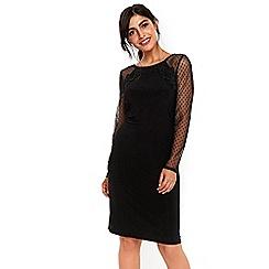 Wallis - Polka dot shift dress