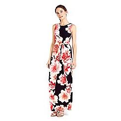 Wallis - Monochrome floral printed dress