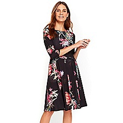 Wallis - Tulip blossom fit and flare dress
