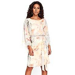 Wallis - Pastel petal kaftan dress
