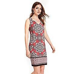 Wallis - Pink paisley shift dress