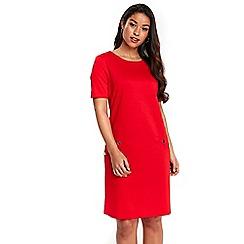 Wallis - Red shift dress