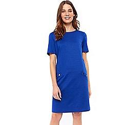 Wallis - Blue shift dress