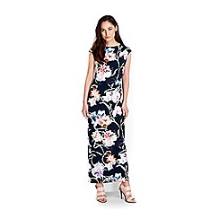 Wallis - Floral stretch jersey maxi