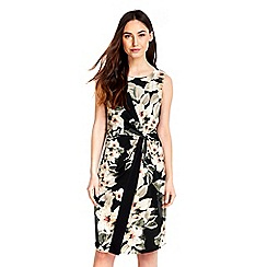 Wallis - Floral printed wrap dress