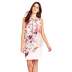Wallis - Floral overlayer dress