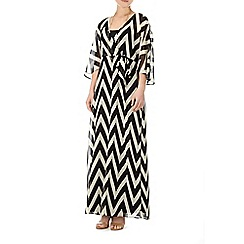 Wallis - Black and white maxi dress