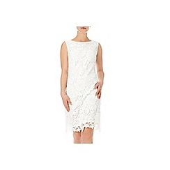 Wallis - Cream crochet lace dress