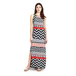 Wallis - Printed maxi dress