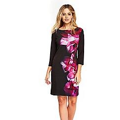 Wallis - Pink abstract floral tunic dress