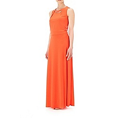 Wallis - Orange bar trim maxi dress