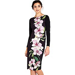 Wallis - Orchid jersey dress