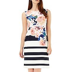 Wallis - Stripe floral tunic dress