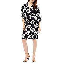 Wallis - Navy floral print tunic dress