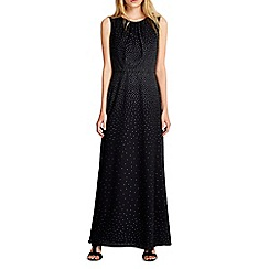 Wallis - Black ombre hotfix maxi dress