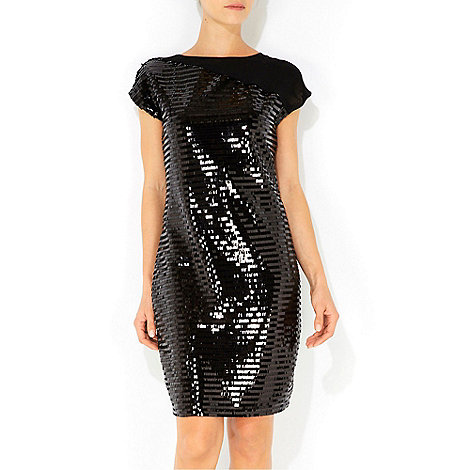 Wallis - Black sequin dress