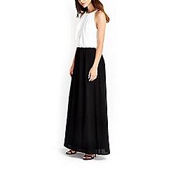 Wallis - Monochrome maxi dress