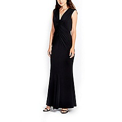 Wallis - Black ruched back dress