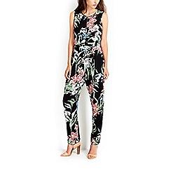 Wallis - Oriental floral print jumpsuit