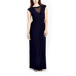 Wallis - Navy embellished maxi dress