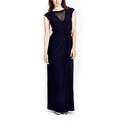 Wallis - Navy embellished maxi dress